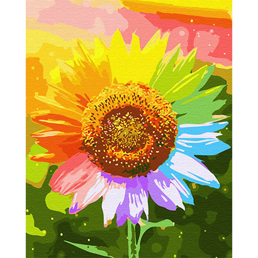 Sunflower Paint By Numbers (4828814835843)
