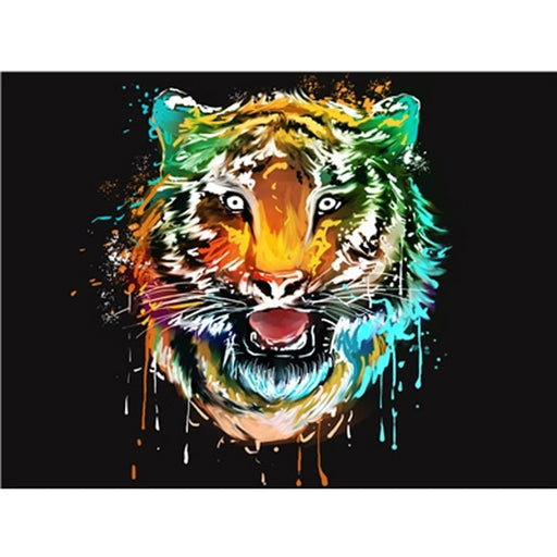 Big Cat Paint By Numbers (4828961374339)