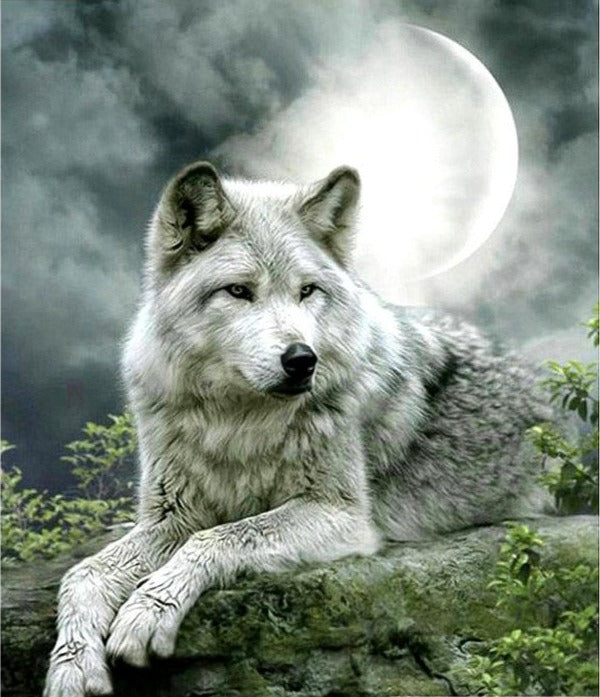 Wolf Diamond Painting