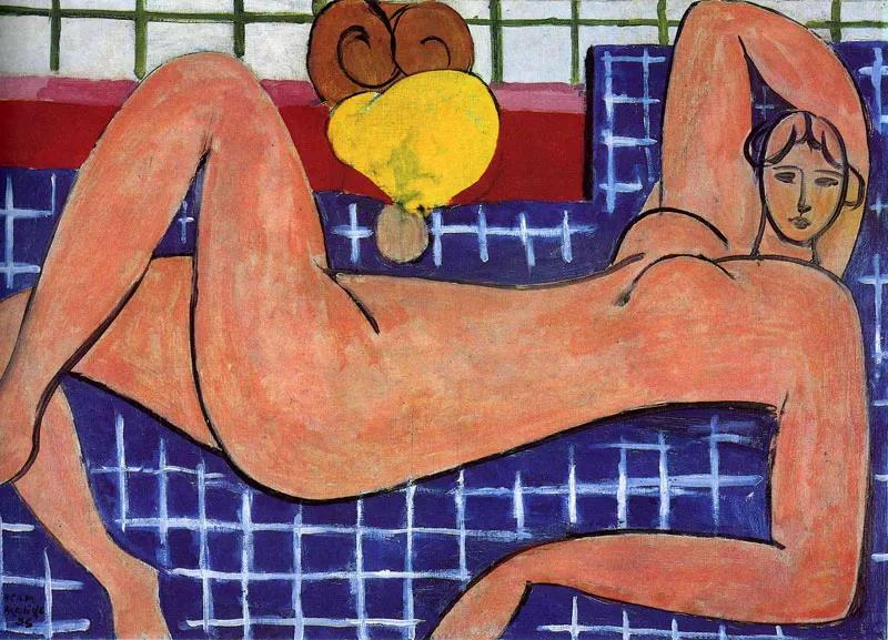 Reclining Nude: Matisse Paint by Numbers Kits