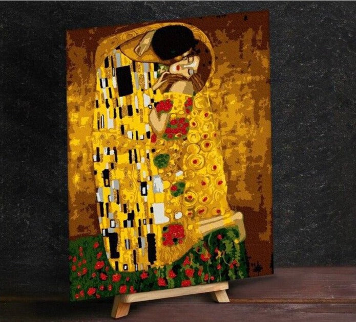 Klimt Kiss Paint by Numbers