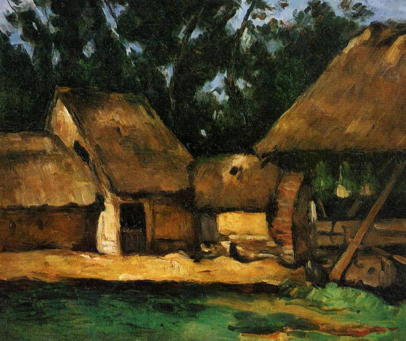 Cezanne Country Cottage Paint by Numbers