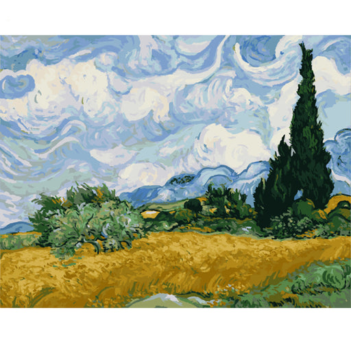 Wheat Field with Cypresses, Vincent Van Gogh (4717897810051)