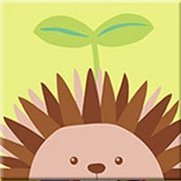 Cute Hedgehog Paint By Numbers (4750105641091)