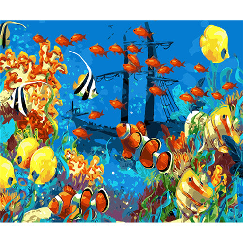 Nemo Fish Paint By Numbers (4805188976771)