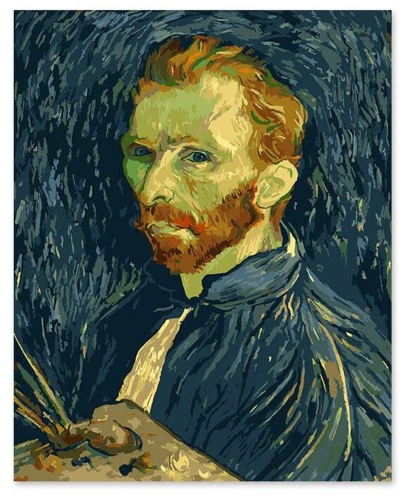 Van Gogh Paint by Numbers: Self-Portrait