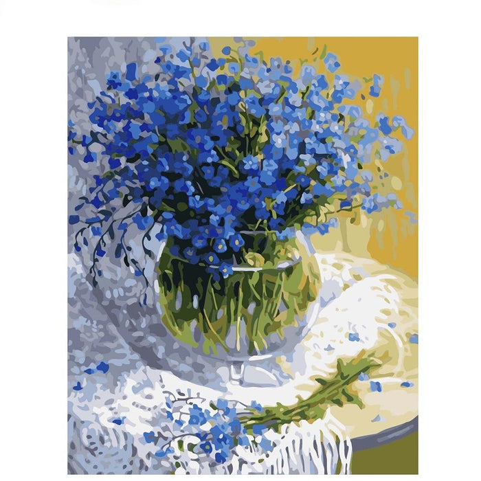 Gypsophila Flowers Paint By Numbers (4780328616067)