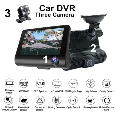 G-Sensor Night Vision Dashcam