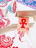 Henna Styled Hand Painted Gift Box