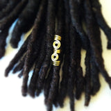 Wire Wrapped Hair Bead Dread Locs Dreadlock Jewelry