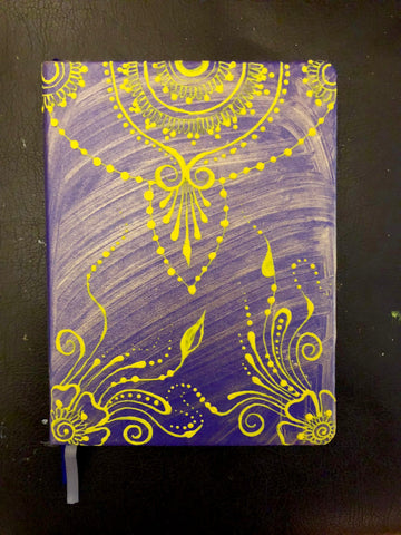 Henna Inspired Painted Journal