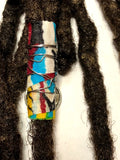 Fabric Bead Loc Jewelry Dreadlock #6
