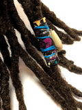 Fabric Bead Loc Jewelry Dreadlock #8