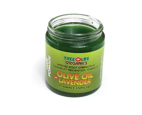 Hair Grease: Olive Oil with Lavender Oil