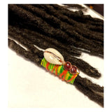 Fabric Bead Loc Jewelry Dreadlock #1