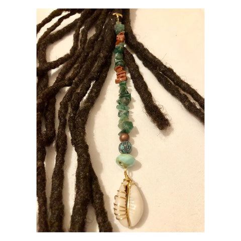 Dangle Bead Loc Jewelry Dreadlock #9