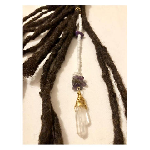 Dangle Bead Loc Jewelry Dreadlock #17