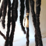 Cowry Shell Hair Bead Tube Dread Locs Dreadlock Jewelry