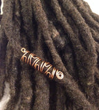 Overlap Dreadlock Hair Bead