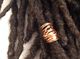 Barrel Wrapped Dreadlock Hair Bead
