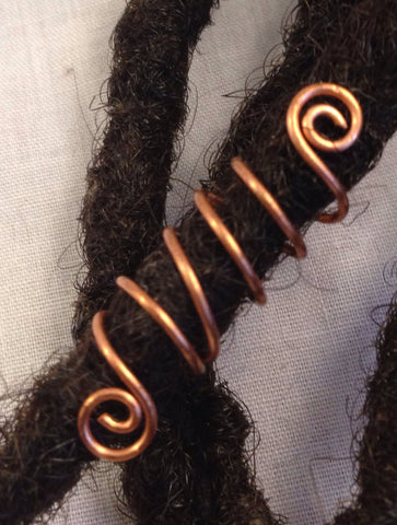 Spiral Dreadlock Hair Bead