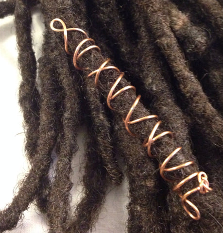 Criss Cross Dreadlock Hair Bead
