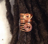 Copper  Dreadlock Bead Accessories