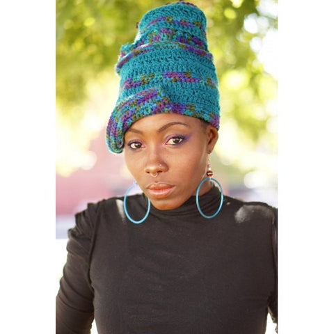 Gele Wrap Dreadlock Loc Hat