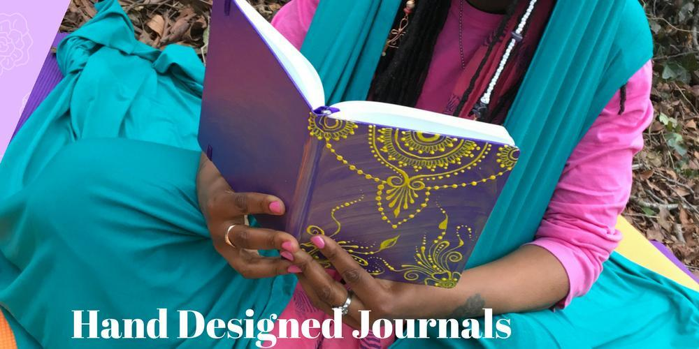 Henna Inspired Designed Journal