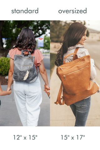 reese backpack size comparison modern and chic