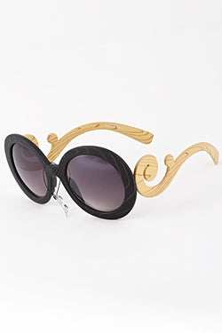 Trendy Willy Wonka Fashion Sunglasses