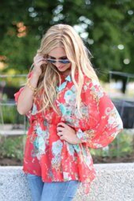 Breezy Boho Top- 3 colors!