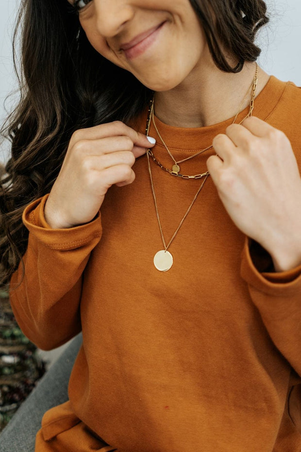 brinley layered necklace