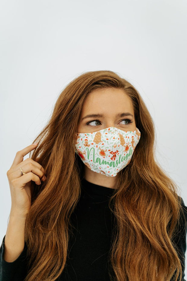 m+c holiday ugly sweater masks (3 for $10)