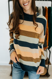 zea striped sweater