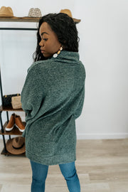 freya high low sweater