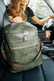 aria convertible backpack + strap