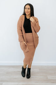 simone skirt + sweater set