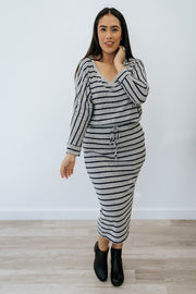 diana striped set