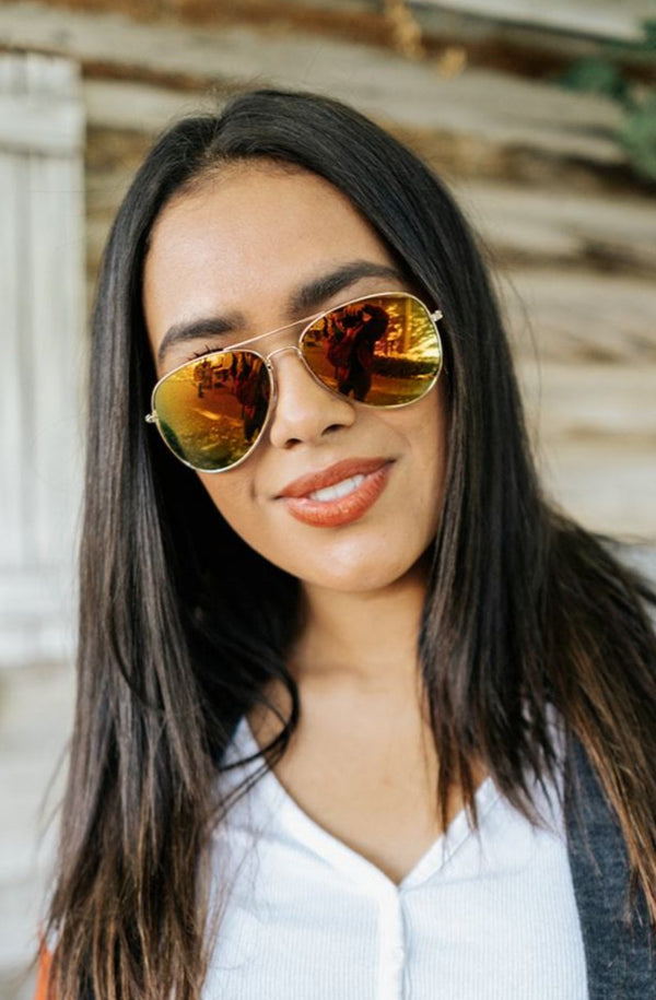 adrienne aviator sunglasses