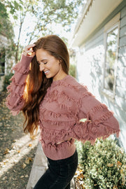 margot fringed sweater