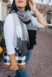 weston checkered scarf | 3 colors
