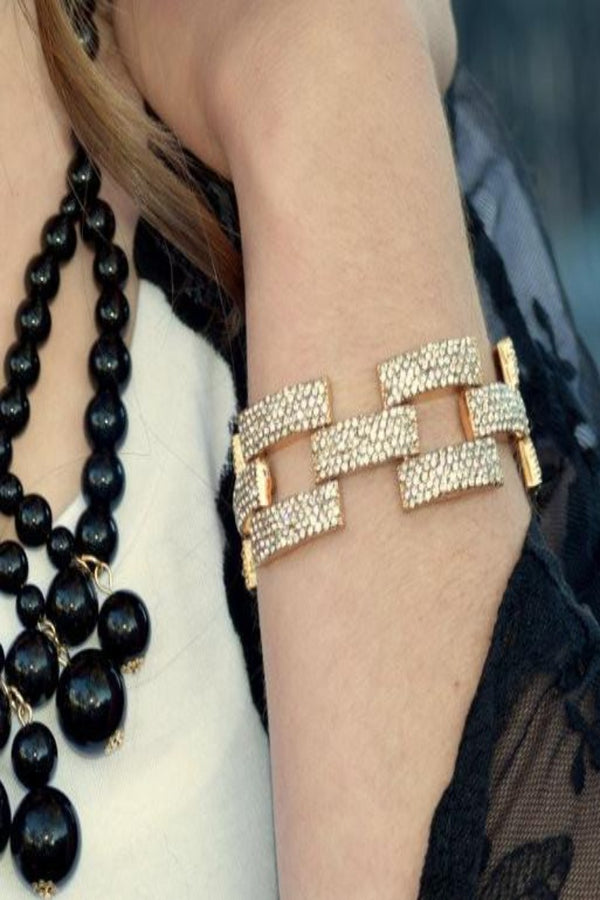 Square Pave Bracelet- 3 Color Options