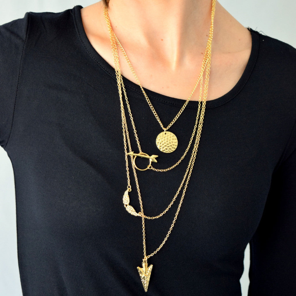 Lovely Layers Dainty Chain Necklace