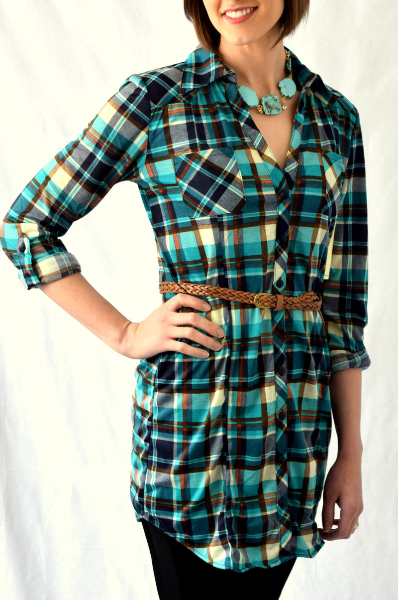 Perfect Plaid Tunic | 3 colors