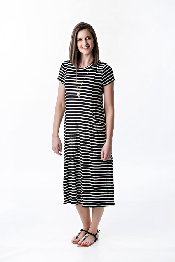 Striped Pocket Dress | 4 colors