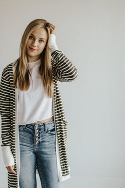stella striped cardigans | lots of colors