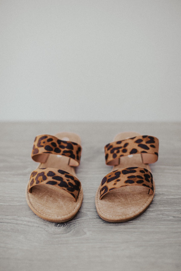 safari double strap sandals