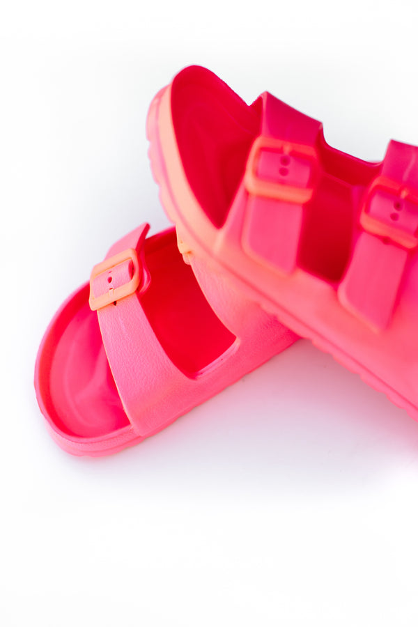 maddie buckle sandals