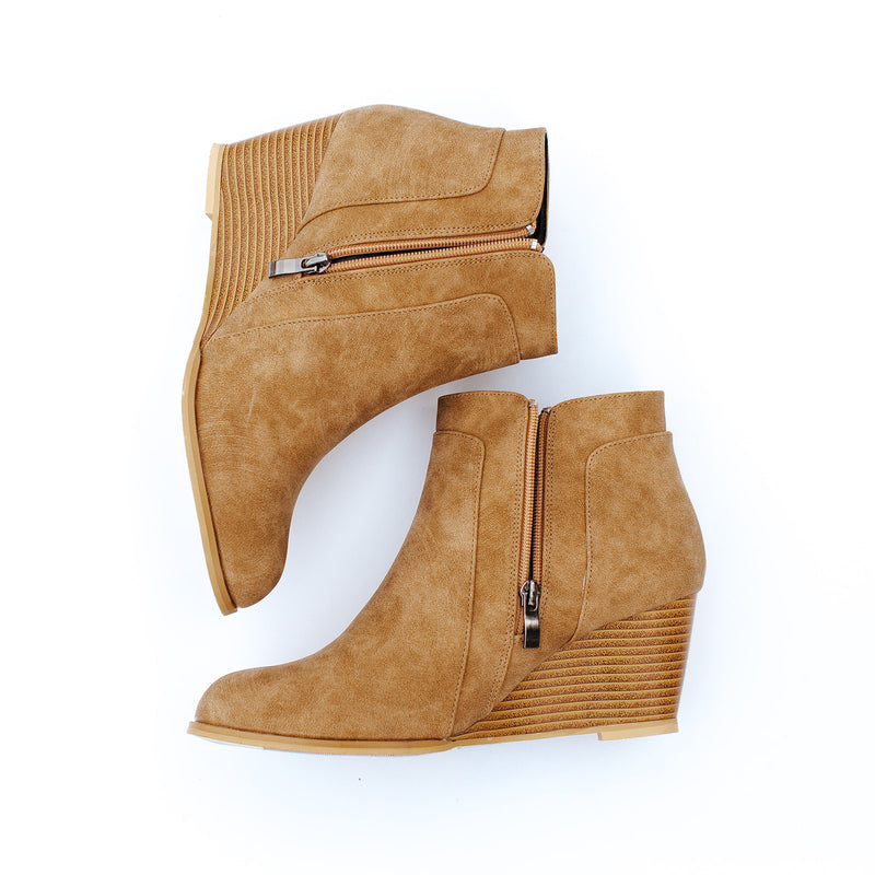 fiona slit booties